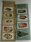 Victorian Agent Sample Pages Union Card Company Calling Cards Scraps Roses+