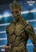 Hot Toys Guardians Of The Galaxy - Groot 1/6 Scale Figure Original