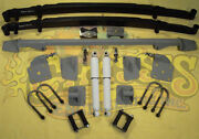 Chassis Engineering As-1019cg Leaf Spring Rear End Mount Kit 1941-48 Chevy Car