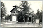 Comm. Church Boulder Junction Wi Wisconsin Vintage Rppc Real Photo Postcard C1