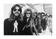 Bob Seger And The Silver Bullet Band A4 Signed Poster With Choice Of Frame