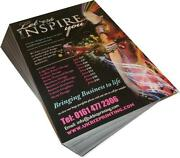 A3 Leaflet Printing From 100 - 50000