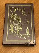 Orson Scott Card Speaker For The Dead Easton Press Leather Signed Autograph Book