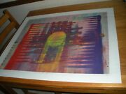 Ray Durrell His Beacon Serigraph Mono Type 1984 Signed