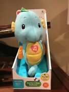 Lot Of 2 Fisher-price Soothe And Glow Seahorse, Blue