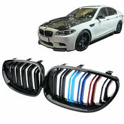 3-color M5 Style Front Kidney Grille For Bmw Grill E60 E61 525i 530i 2004-2009