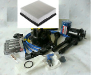 Cap-ngk Wires-spark Plug-oil-air-fuel-filter Tune Up Kit For Honda Crv 99-01