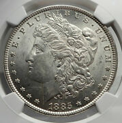 1885 United States Of America Silver Morgan Us Dollar Coin Eagle Ngc Ms I80140