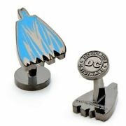 Batman Cape Cufflinks With Collectible Case - Officially Licensed - Dc Comics