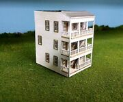 3 X Train Time Laser N Scale Meadows Apartment Building Kits