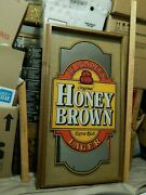 Jw Dundee's Honey Brown Lager [29''x17''] Bar_pub_tavern Wall Sign Mirror