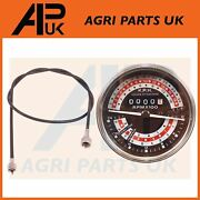 Tachometer And Tacho Cable For Massey Ferguson 165 168 178 188 Multi-power Tractor