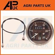 Tachometer Rev Gauge And Tacho Cable For Massey Ferguson 240 265 290 565 Tractor