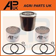 Ford 2000,2600,3000,3600,4000,4600,5000,5610,6610 Tractor Oil And Fuel Filter Set