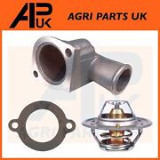 Ford New Holland 3600 3610 3910 4000 Tractor 74 C Thermostat + Housing And Gasket