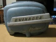 Vintage Outboard Evinrude Fleetwin 7.5 Hp Cowl Cowling Housing Shroud Hood Cover