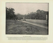 Antique Print 1896 - The Foundling Hospital London