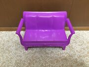 2010 Barbie Malibu House Dreamhouse Replacement Sofa Couch Living Room Furniture