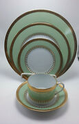 Haviland Oasis 5 Pieces Dinner, Dessert, Bread/butter Plates And Cup/saucer