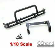 Front Metal Rolling Cage Pedals Bumpers Tamiya 1/10 Buriser Hilux Black/silver