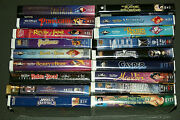18 Disney And Children Vhs Movies Vhs Tapes Read Description 18 Tape Lot