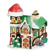 Dept 56 Santaand039s North Pole Office 4036540 Nrfb Village Check And Double Check