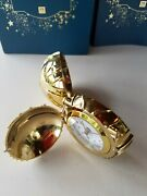 Pottery Barn Teen Harry Potter Golden Snitch Clock Gold 2940