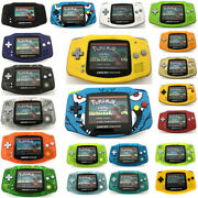 Multi-color Game Boy Advance Gba Game Console Ags-101 Backlight Backlit Screen