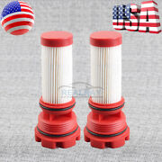 2x New Fuel Filters For Mercury Jet 80hp Pro Xs 115hp Outboard 1.5l 3 Cylinder