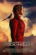 The Hunger Games Mockingjay - Part 2 Original 27 X 40 Theatrical Movie Poster