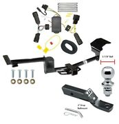 Trailer Tow Hitch For 10-14 Lincoln Mkt Complete Package W/ Wiring And 1-7/8 Ball