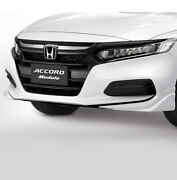 Asian Jdm Front Radiator Black Grille 2018-21 New Accord Honda Genuine Access