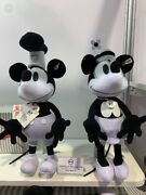 D23 Disney Expo Limited Edition 50 Steiff Mickey And Minnie Mouse Plush New