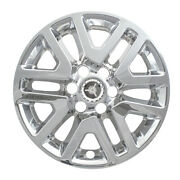 16 Chrome Wheel Skins / Hubcaps For '14-15 Nissan Xterra And 2014-2020 Frontier
