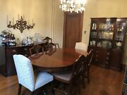 10pc Mahogany Drexel Dining Room Suite