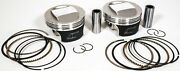 Wiseco Tracker Pistons Kit Forged Crowns W/ Pins And Rings K0208ps Made In Usa