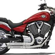 Bassani Pro Street Turn Out Chrome Performance Exhaust System Sm9-3to