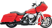 Bassani Road Rage Ii 2-into-1 Mega Power Exhaust System Flh-767b Made In Usa