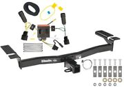 Trailer Tow Hitch For 11-15 Lincoln Mkx All Styles Receiver And Wiring Harness Kit