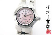 Tag Heuer Wn1319 2000 Series Exclusive Ladies Quartz Ss From Japan [a0828]