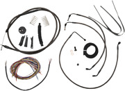 La Choppers Complete Bar Swap Cable And Brake Line Kit La-8052kt2-19m Made In Usa