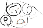 La Choppers Complete Bar Swap Cable And Brake Line Kit La-8320kt2b-08b Made In Usa