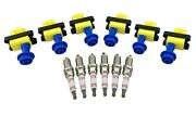 6 Ignition Coil Packs And Spark Plugs For R31 C33 A31 Rb20det Laurel 300zx Skyline
