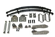 1933-34 Ford Chassis Eng. Rear Leaf Spring Kit With Sway Bar As-2012c Sb-3334ra