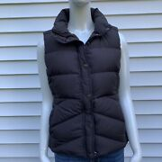 J.crew Womenandrsquos Fleece Lined Brown Puffer Down Best Size M
