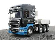 1/14 Rc Lesu 88 Metal Chassis Bucket Hercules Cabin R730front Face Scania Truck