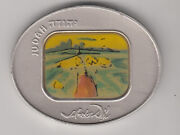 Salvador Dali Tribes Of Israel Judah 105g Pure Silver Oval State Medal S/n 272