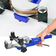 Manual Pipe Tube Bender Kit 3/8 Inchandmdash7/8 Inch With Pipe Cutter And Deburring Tool