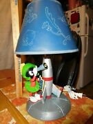 Marvin Martian Lamp And Shade Warner Bros Store Exclusive Works