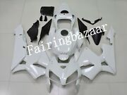 Fit For 2005 2006 Cbr600rr Solid Pearl White Abs Plastic Injection Fairing Kit
